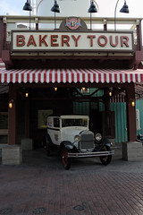 Bakery Tour (Melissa_JMH) Tags: anaheim disneyland california adventure disney tour bakery car outside outdoors old