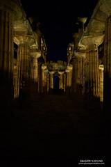 Notte dei Musei - Paestum (Giuseppe Natalino) Tags: temple nettuno paestum tempio tempiogreco greektemple piano gabrielzuchtriegel zuchtriegel nightinthetemple