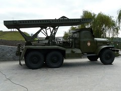 "BM-13 on ZiL-157 7 • <a style=""font-size:0.8em;"" href=""http://www.flickr.com/photos/81723459@N04/35603307455/"" target=""_blank"">View on Flickr</a>"