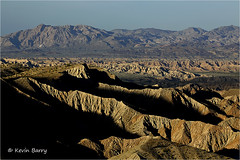 Carrizo Badlands (Kevin B Photo) Tags: kevinbarry anzaborregodesertstateparkcalifornia carrizobadlands west western dry spring springtime arid scenic landscape usa america afternoon sunset geology day daytime color colorful 2017 canon5dmarkiii light shadows