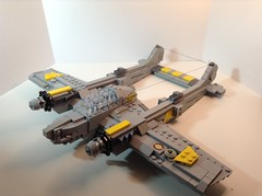 P38 Lightning (BlackandWhiteBricks) Tags: p38 lightning planes ww2 vietnam lego realistic