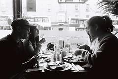 Sophia, Akio, Laura, Flavio (margherita.borgobello) Tags: analog blackandwhite pentax film scotland edinburgh biancoenero rullino analogica