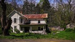 Monroe House 2_ Color (Bob G. Bell) Tags: abandoned color westvirginia monroe monroecounty fujifilm xt1 house home bobbell