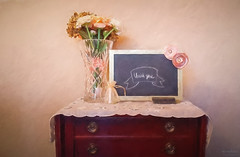 Thankful Chalkboard (The Mr and The Mrs) Tags: appreaciation camera chalk chalkboard diningroom eraser flowers galaxy licingroom smartphone target targetstyle teacher thankyou topazimpression vase vintage kristicreed themrandthemrs wwwthemrandthemrscom