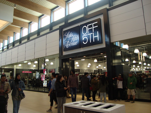 thoughts on the grand opening of outlet collection
