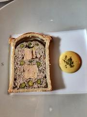 Les Amis - traditional french pâté-en-croûte with duck foie gras, pistachio & black truffle (joone!) Tags: lesamis sg sgfood sgfoodie jooneeats french michelin lunch pate charcuterie