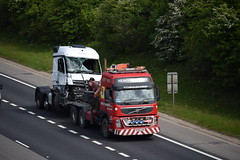 SF06 LDA (markkirk85) Tags: lorries lorry truck trucks a1 motorway a1m alconbury volvo fm13 recovery motorhog sf06 lda sf06lda