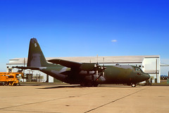 62-1838. Crashed 13 May 1995. The no. 2 engine caught fire after takeoff from Boise. The crew of 'Sumit 38' attempted to divert to Mountain Home AFB, ID (MUO), but did not make it. The aircraft crashed approximately 23 minutes after leaving Boise. (Gerrit59) Tags: c130e