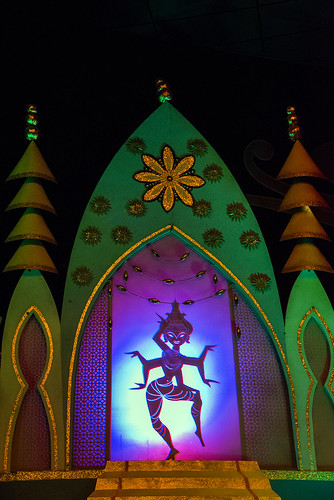 """it's a small world"" in Disneyland"