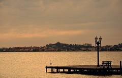 just come... II (Ruby Augusto) Tags: heron graça píer pier bench lamp bay baía city cidade