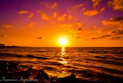Sunset (Francesco Impellizzeri) Tags: sunset trapani sicilia clouds