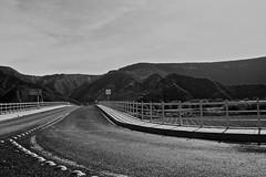 Metztitlán (bransilva) Tags: bw blanco y negro refri desk escritorio paisaje perrito carretera