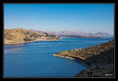 Titicaca - Isla del Sol et coté Bolivien (M@P31) Tags: titicaca lac bolivia sonya77 thaki isladelsol bateau paysage lago sigma1770c andes cordillère bolivie altiplano 2016 landscape