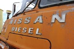 Nissan Diesel (ambodavenz) Tags: nissan diesel concrete mixer truck wanaka toy transport museum central otago new zealand