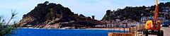 PANOR  TOSSA D MAR  OMD_P4205972-73-74-75  PNMMK4 (FABIÀ) Tags: panoràmic panorama olympus omd em5 mzd0918mm mzd12100f4pro mzd75300mmii ndf4400 catalonia girona laselva costabrava mediterrani mediterranean mar sea water