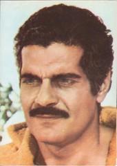 Omar Sharif (Véronique3) Tags: omar sharif casafilmuluiacin cinema acin vintage postcard