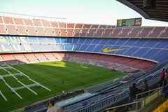Camp Nou 7 (Seán Creamer) Tags: barcelona spain campnou football soccer uefa catalonia iniesta messi fcbarcelona ladislaokubala ballondor championsleague europeancup goldenboot valdés xavi puyol guardiola cruyff ramos mésqueunclub laliga