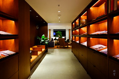 Magazine shelves (A. Wee) Tags: cathaypacific thepier firstclass airport lounge hkg hongkong 国泰航空 香港 机场 中国 china