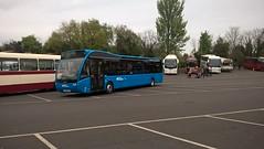 Ulsterbus Optare Versa. (Phill_129) Tags: ulsterbus foyle optare versa long blue bus 1820 ufz new northern ireland buses