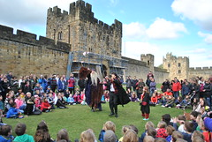 DSC_6590 (nordic lady) Tags: alnwick castle harry potter sightseeing england alnmouth holidays easter 2017