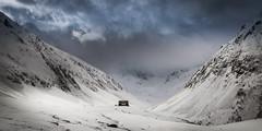 Mystical Mountains (Andris Nikolajevs) Tags: georgia chaukhi caucasus mountains winter mountainscape landscape winterlandscape snow sjy louds cloudporn colors remote mountainhut nikonflickraward