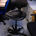 Industrial draughtsman's chair E65