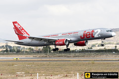 Boeing B757 Jet2 Menorca G-LSAB (Ana & Juan) Tags: airplane airplanes aircraft airport aviation aviones aviación boeing 757 b757 landing alicante alc leal spotting spotters spotter planes canon closeup jet2