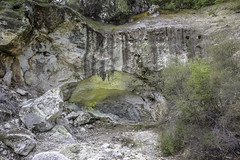 Sulphur Cave (- Jan van Dijk) Tags: waiotapu bayofplenty newzealand nz sulphur cave cavern deposit geothermal thermal rock volcanic yellow zwavel
