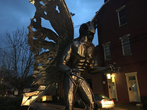 Mothman Statue, West Virginia