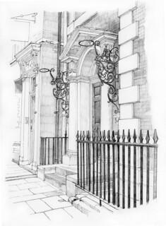 Doorway, Garforth House, 54 Micklegate, York