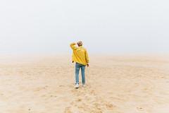 Lost In A Fog (LauraJayneAustin) Tags: 2017 baja lauraaustin monsterchildren todossantos mexico travel quietlife beach mist fog coast nature style yellow