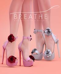 [BREATHE]-Roselyn Heels ([Breathe]) Tags: breathe secondlife mesh collabor88 heels c88