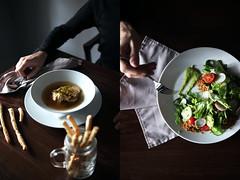 6 (iamgreengory) Tags: foodphoto foodporn foodstyle foodblogger foodie salad burger bun soup