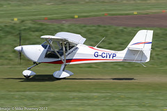 G-CIYP - 2016 build Aeropro Eurofox, departing from Runway 26R at Barton (egcc) Tags: aeropro andrews bmaahb677 barton cityairport egcb eurofox gciyp lightroom manchester microlight