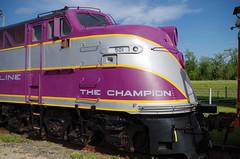 The Champion (Fan-T) Tags: spencer e6 champion purple silver emd 501
