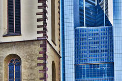 Frankfurt Farbe (rainerneumann831) Tags: frankfurt kirche hochhaus architektur rainerneumann linien gebäude
