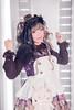 SDF_6904 (SendoFu) Tags: bonnet ボンネット エプロン風スカート blouse bl ブラウス headbow kc カチューシャ bnt 蕾絲 維多利亞 jsk op onepiecedress ワンピース jumperskirt ジャンパースカート nop lolita lolitafashion 蘿莉塔 蘿莉塔時裝 ロリータ・ファッション sweetlolita classicallolita