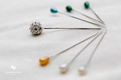 Hair Pins (needles) (hisalman) Tags: hair pins needles cushion pinned macro tamron 2875mm objects
