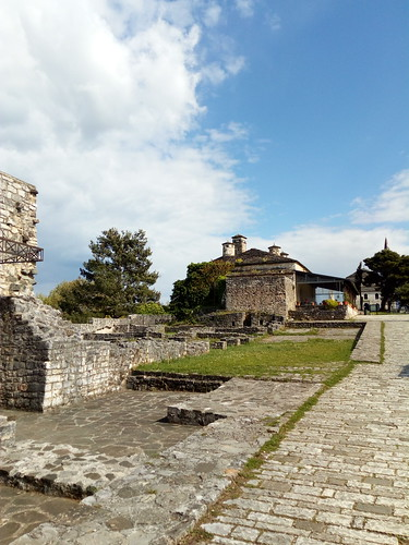 Inside the fortress of Ioannina