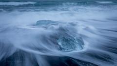 Shine on you crazy diamond (Mika Laitinen) Tags: canon5dmarkiv europe iceland jökulsárlón color ice landscape nature ocean outdoor sea seascape shore water easternregion is