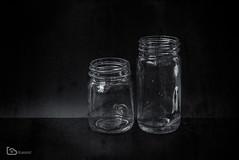 bottles (alamond) Tags: bottle glass two spices old vintage bw blackandwhite monochrome canon 7d markii mkii llens ef 1740 f4 l usm alamond brane zalar