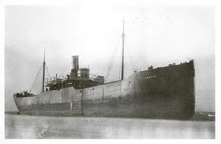Vlieland - stranding Skauts - 13 januari 1930