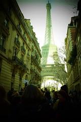 Paris, Eiffel Tour (MagdalenaKroliczek) Tags: paris eiffel tour womens march magicparis street magical france paryż