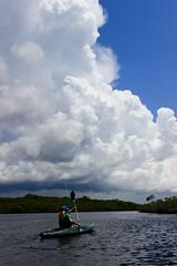 John Pennekamp State Park (Stone_JS) Tags: clouds kayaking water johnpennekamp skatepark mangroves storm cumulonimbus blue white sky channel florida floridakeys keylargo