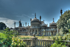 Pavilion (Anthony P26) Tags: architecture brighton category eastsussex england external places royalpavilion travel uk unitedkingdom english british britain greatbritain bluesky architecturephotography travelphotography dome balustrade lawn canon canon70d canon1585mm oriental trees outdoor grass