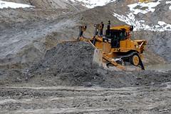 Caterpillar D10R (Falippo) Tags: bulldozer bull raupen caterpillar caterpillard10 d10 sand quarry pit apripista steinbruch movimentoterra plantmachinery
