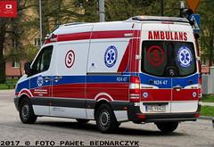 N24 47 - Mercedes-Benz Sprinter 316 CDI/Auto Form - DRM WSZ w Elblągu (Pawel Bednarczyk) Tags: n2447 ne98420 elbląg mercedes benz sprintet 316 cdi auto form karetka ambulans eska ska specjalistyczny warmińskomazurskie ambulance