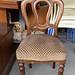 Mahogany spoon back chair E40