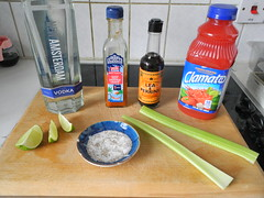 Bloody Caesar (droolworthy) Tags: bloodycaesar cocktail vodka canadian clamato tomatojuice celerysalt booze encona hotpeppersauce newamsterdam bloodymary fatlescooks fetlescooks