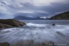 Incoming Tide - Elgol (silverlarynx) Tags: scotland skye isle elgol dawn le seascape mountains rocks